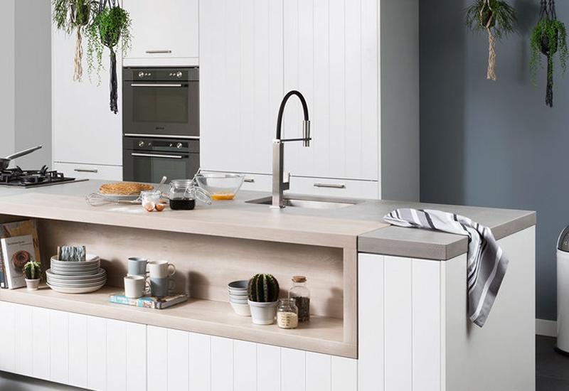 Keuken Met Beton : De stoere look van betonnen keukens keukenmaxx