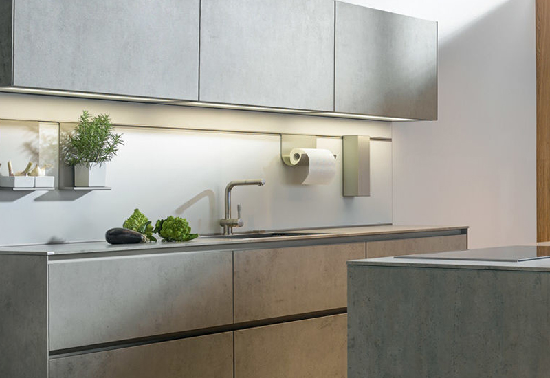 Zwart Betonvloer Keuken : De stoere look van betonnen keukens keukenmaxx