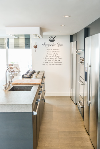 Moderne keuken van Janny & Dik