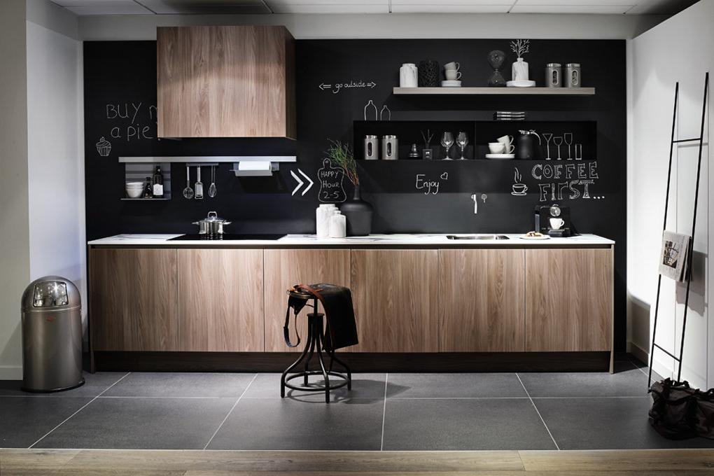 houten keuken uniek