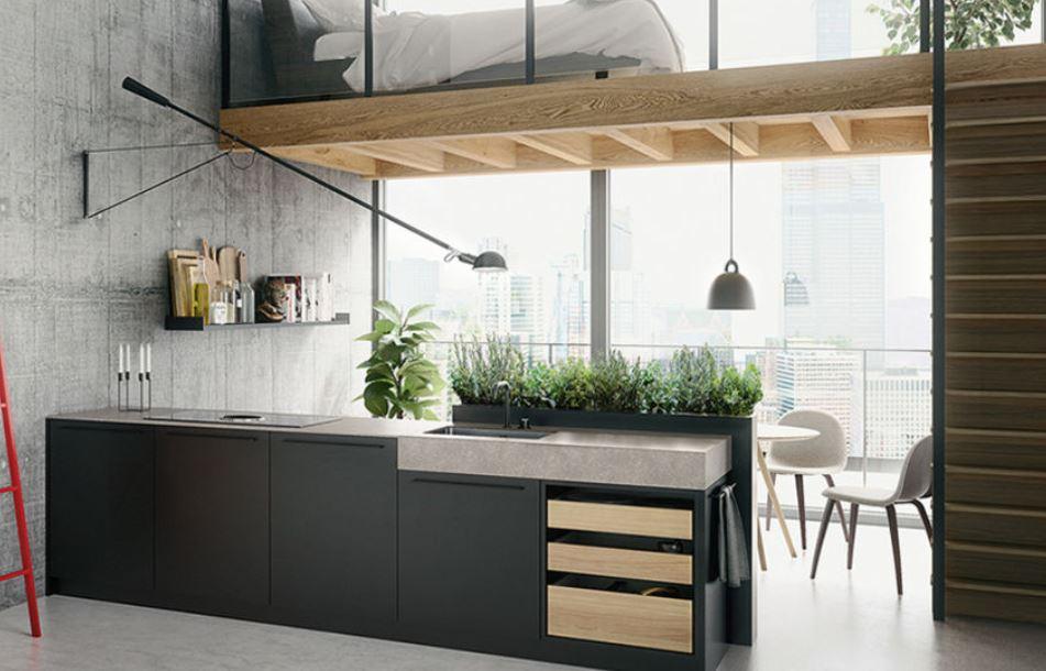Strakke Zwarte Keuken : Trendy zwarte en witte keukens keukenmaxx