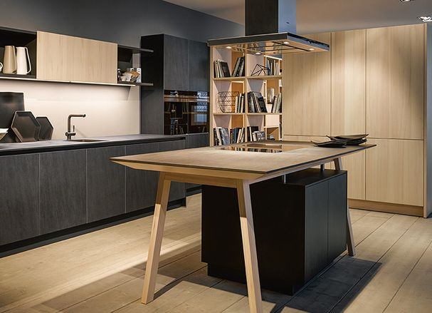 Klein Keuken Industriele : Industriële keukens ruimtelijk en robuust u keukenmaxx