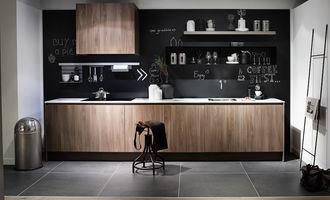 Krijtbordverf in de keuken