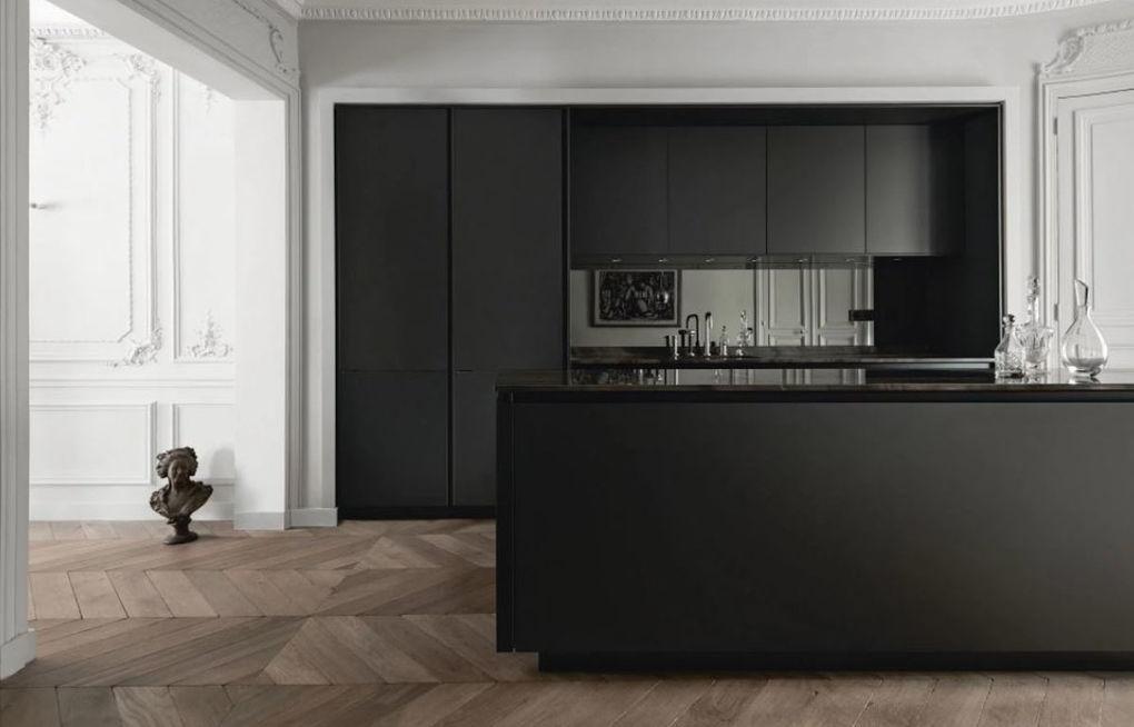 Modern Zwart Keuken : Trendy zwarte en witte keukens keukenmaxx