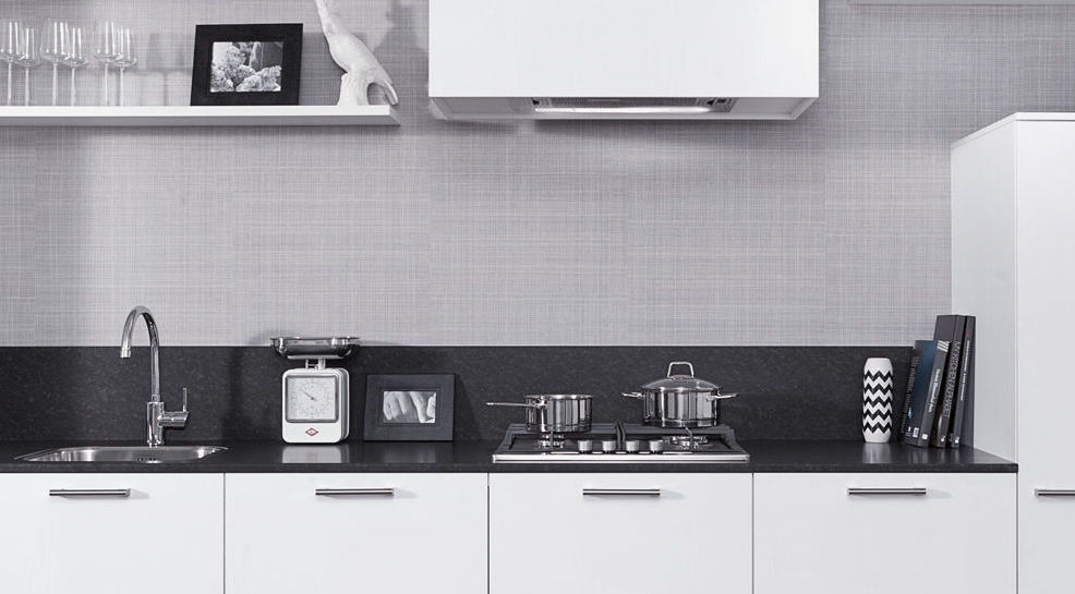 Rechte kleine keuken