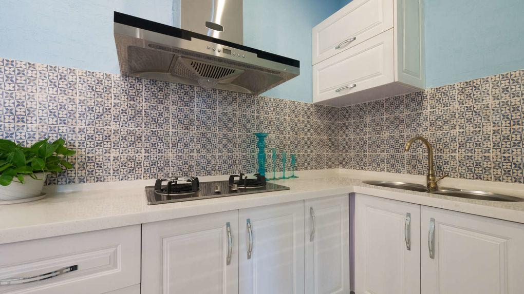 Tegels keukenwand