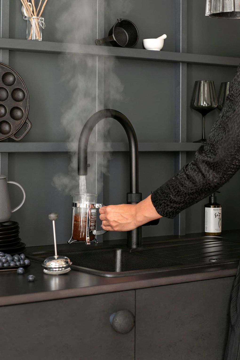 quooker black flex koffie