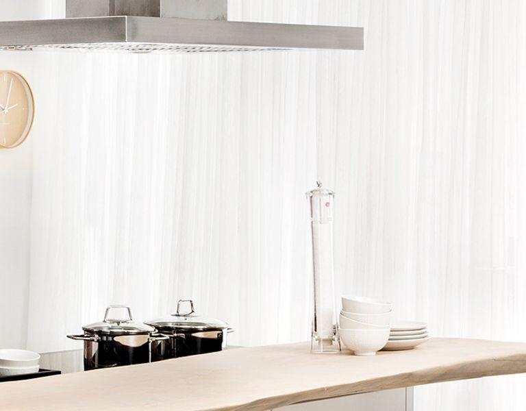 Industriële keuken wit