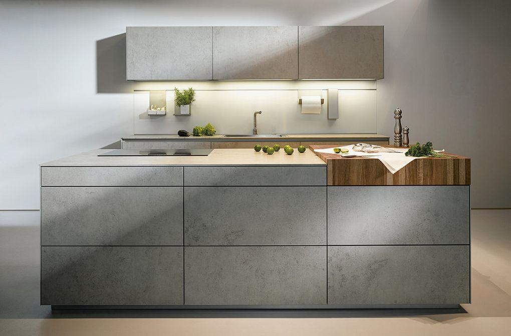 unieke betonnen keuken