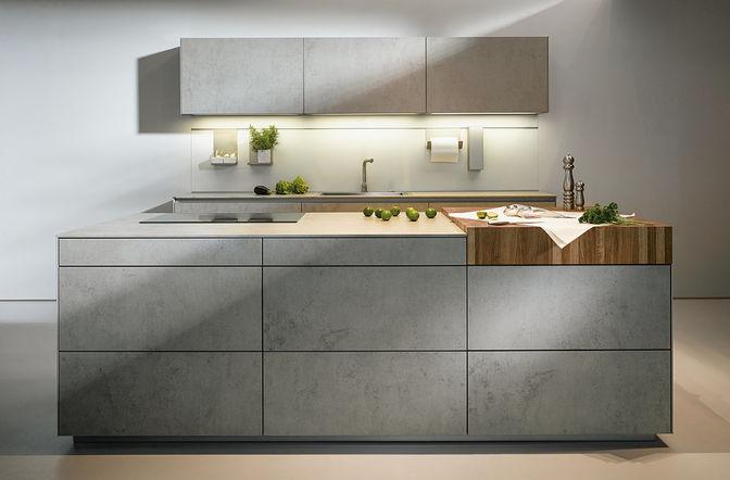 Keukenstijlen: betonnen keuken