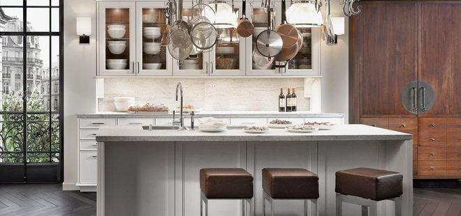 Voorbeelden van klassieke, moderne keukens