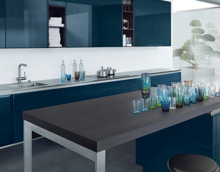 next125 501 Indigo blauw
