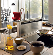 nieuwe keuken keukenapparatuur kitchenaid afzuigkap
