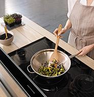 nieuwe keuken keukenapparatuur kitchenaid kookplaat
