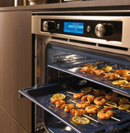 nieuwe keuken keukenapparatuur kitchenaid oven