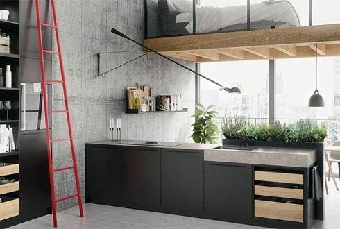 Italiaans design keuken
