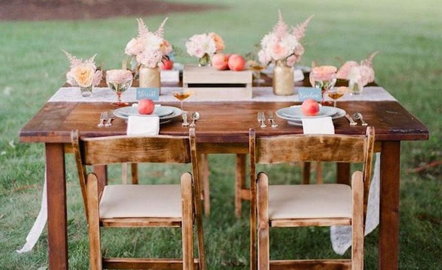Haal de keuken naar buiten met een zomerse tafel
