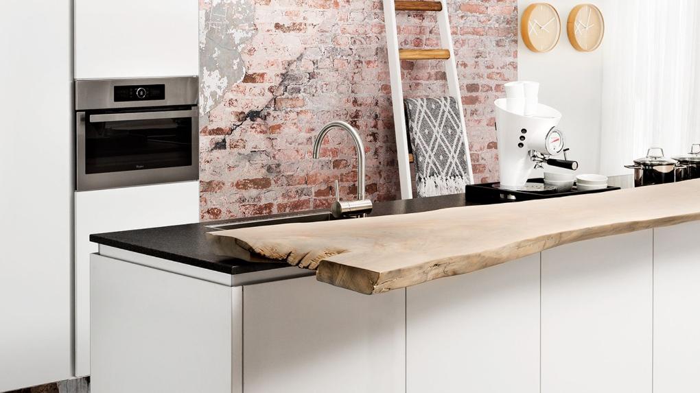 unieke keuken hout