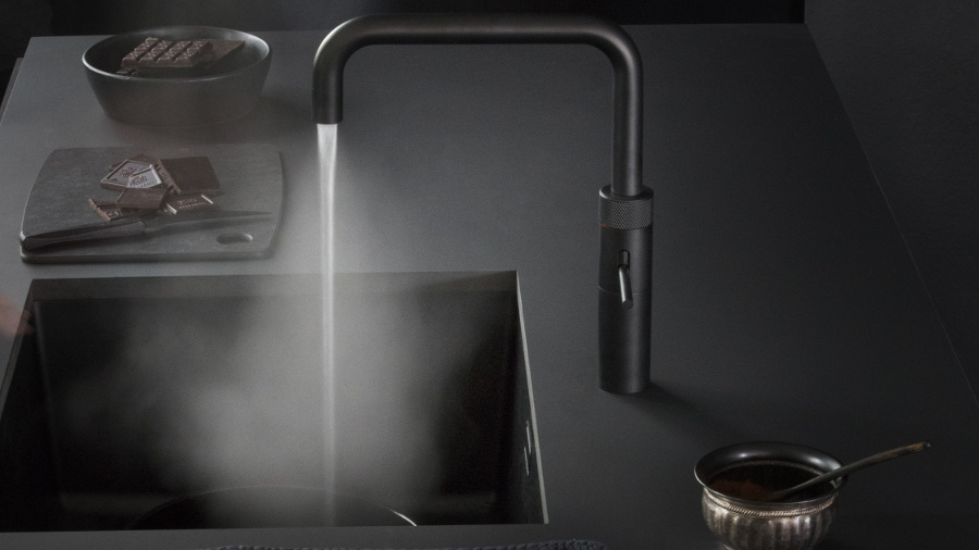 Mat Zwarte Kranen : Zwarte kranen voor een stoere look keukenmaxx