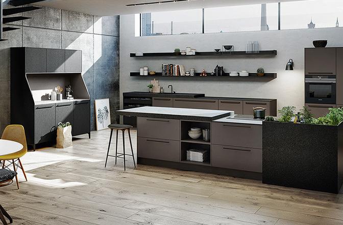 Keukenstijlen: industriële keuken