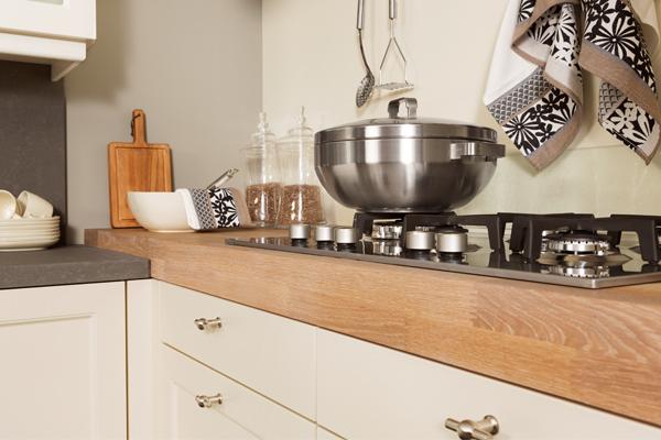 Natuurlijke materialen in uw keuken