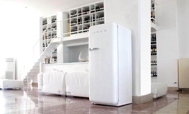 Vrijstaande Smeg koelkast